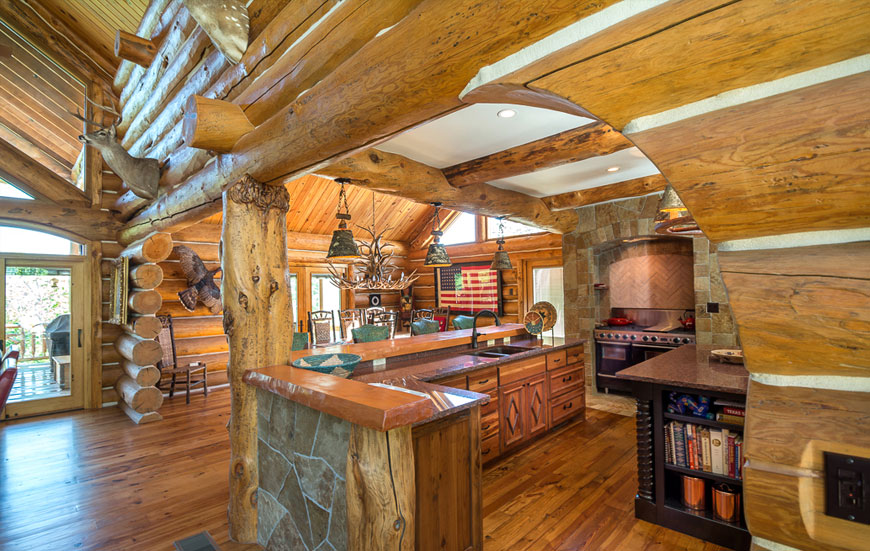 Log home crafting construction southwest log homes for Southwest home builders