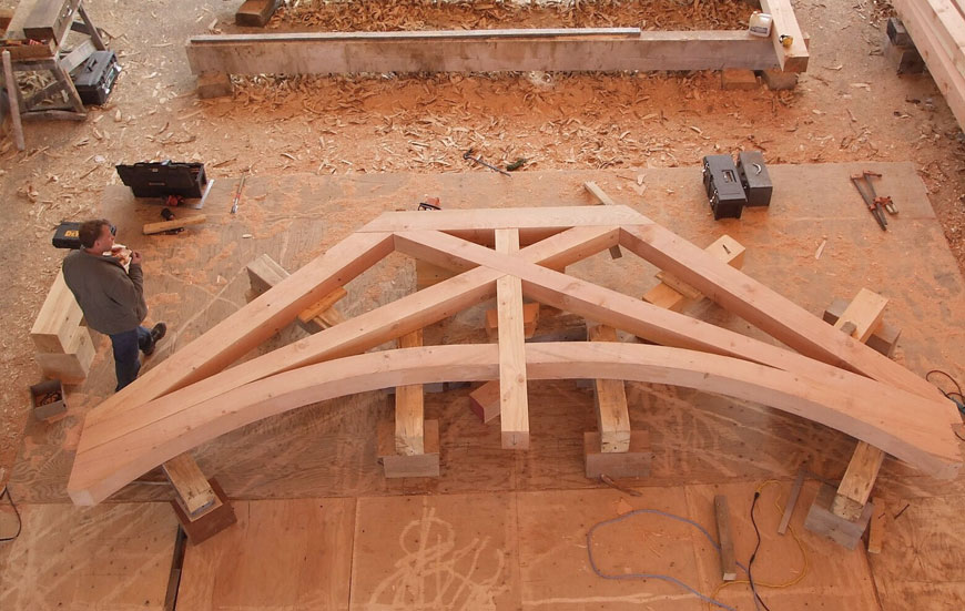 Timber frame homes southwest log